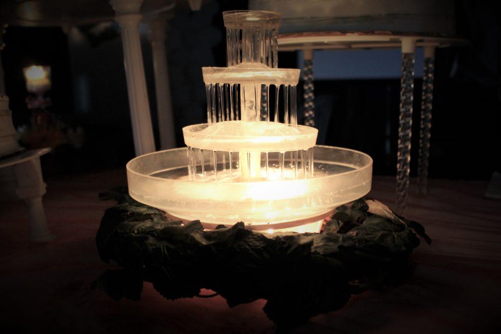 fotografía Santa Ana boda decoración adorno fuente