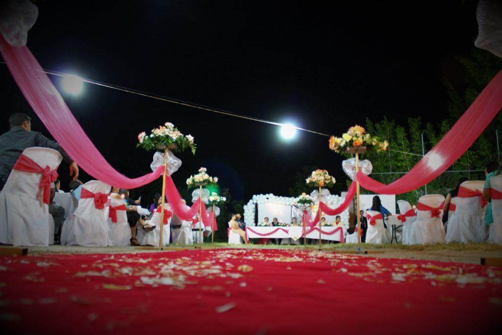 fotografía Santa Ana boda decoración adorno