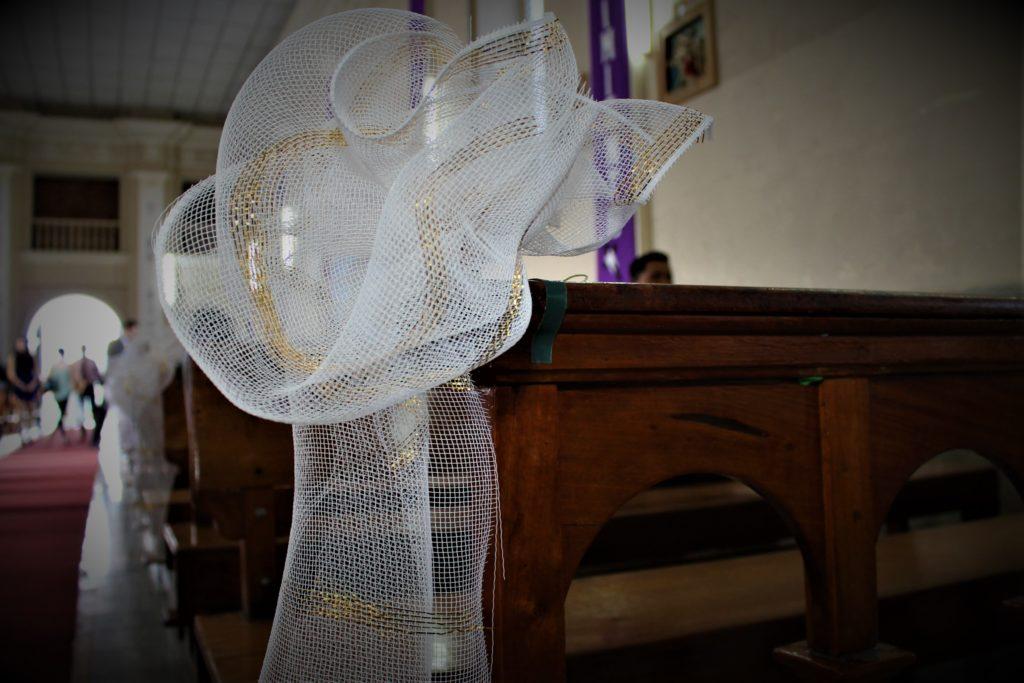 fotografía Santa Ana boda decoración iglesia