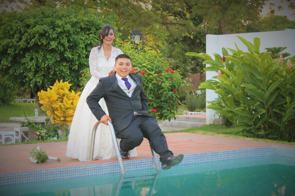 Sesión de fotos recepción de boda