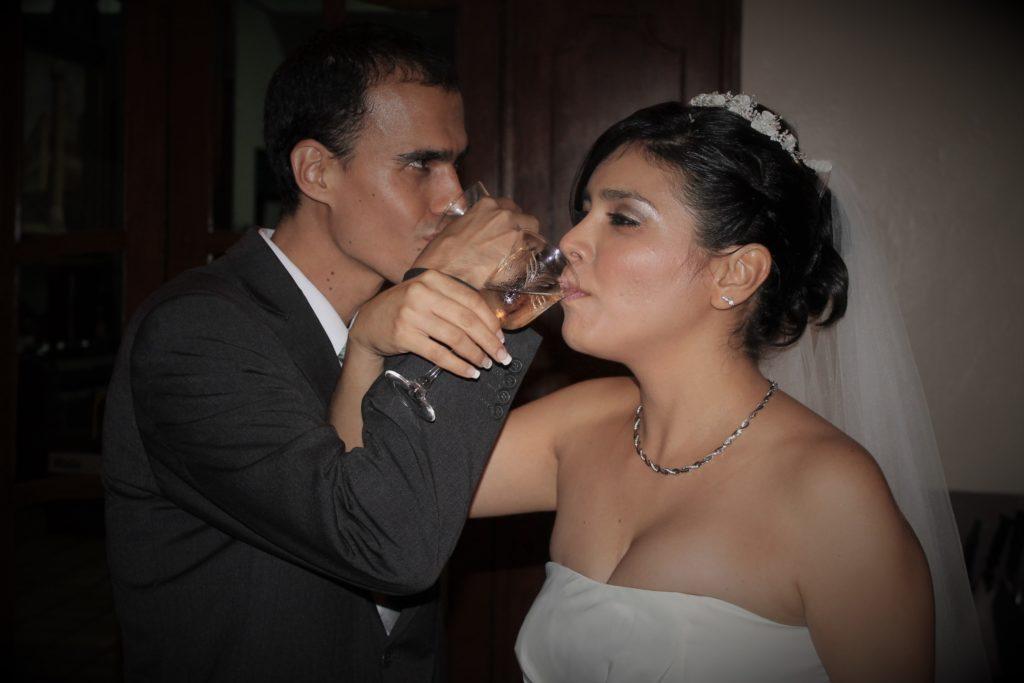 El brindis de la bodas