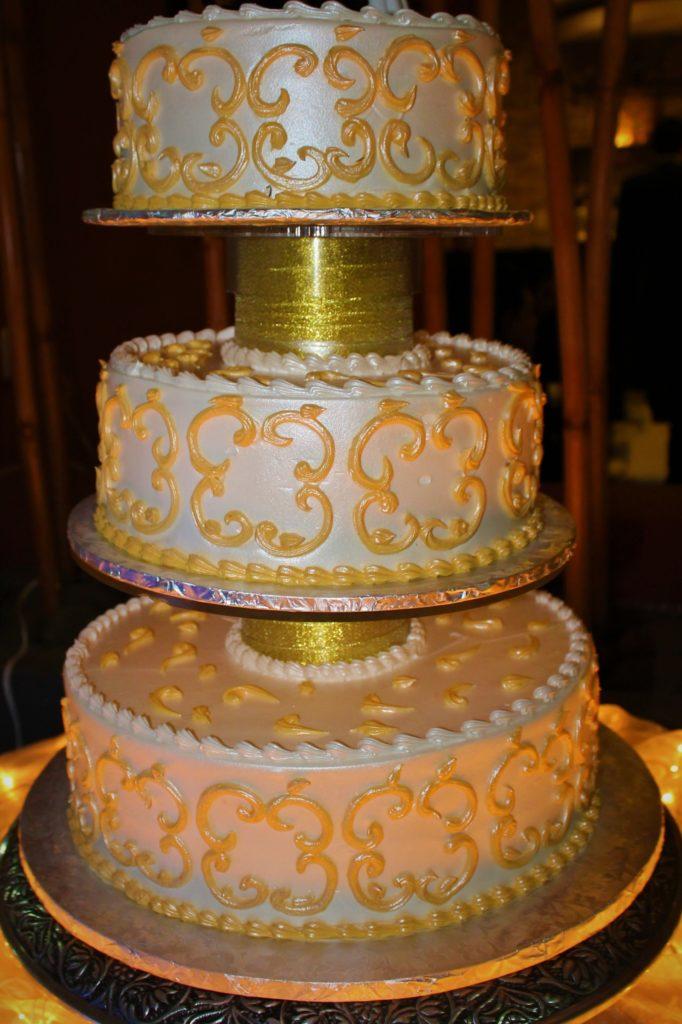 Pastel de boda El Deportivo