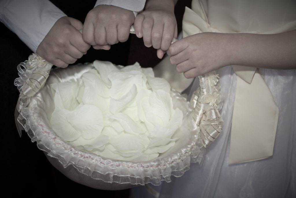 Pétalos de boda Santa Ana