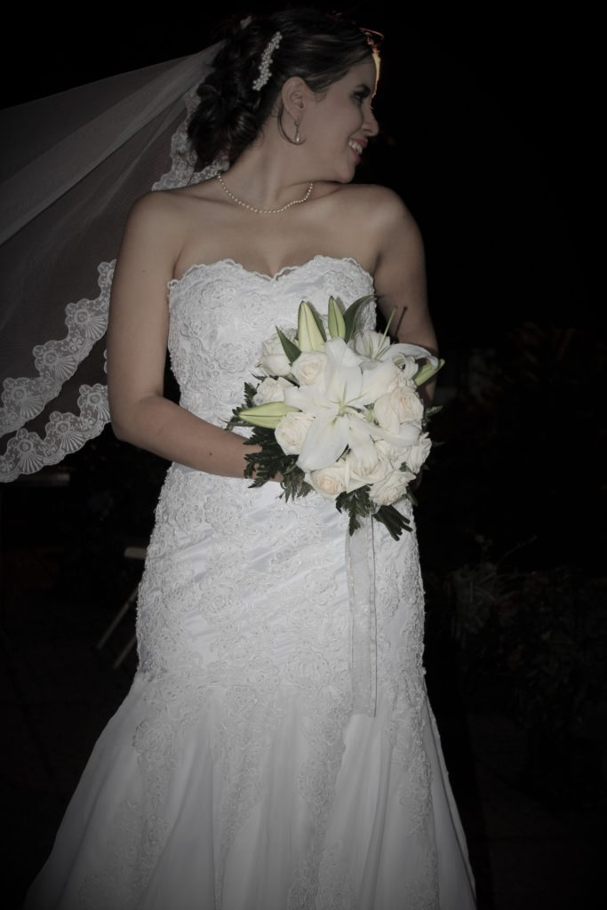 Sesión fotográfica de bodas para la novia