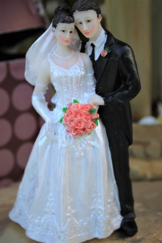 Adorno pastel de boda