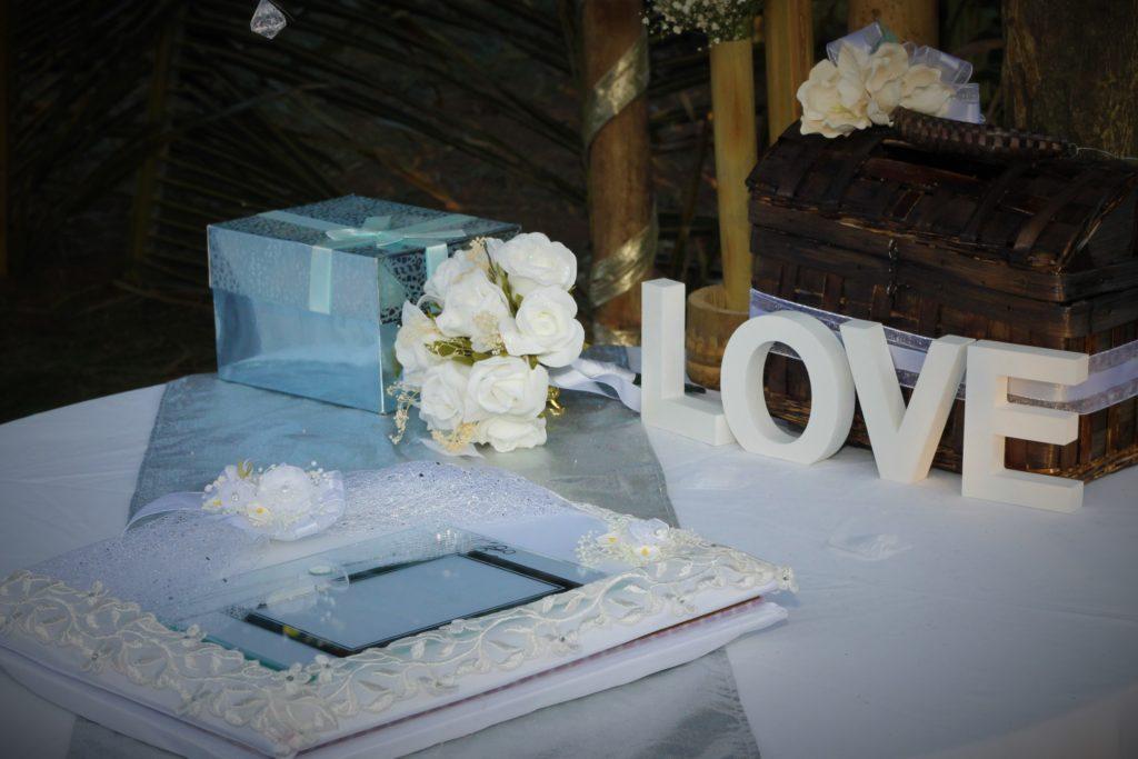 Mesa de regalos boda el Deportivo