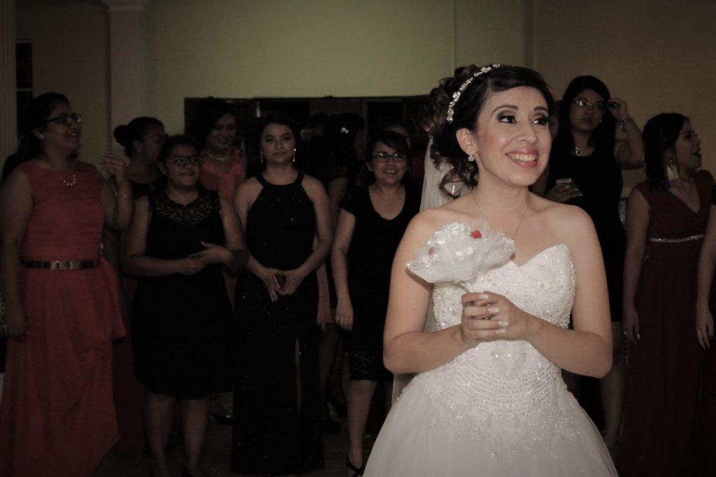 Ramo de la novia en boda