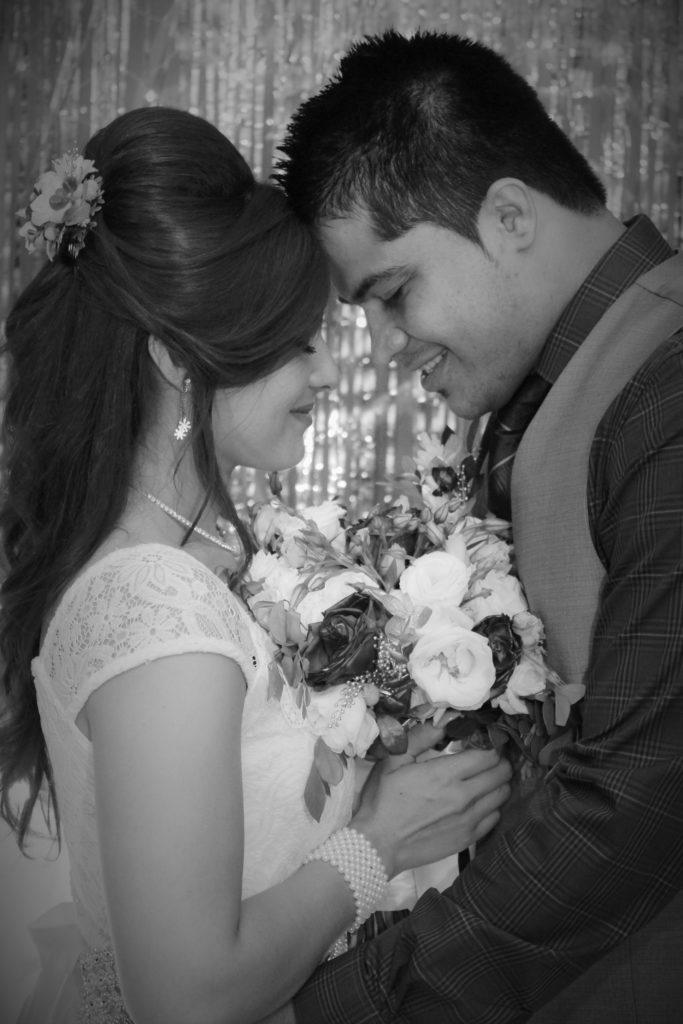Recién casados en Santa Ana