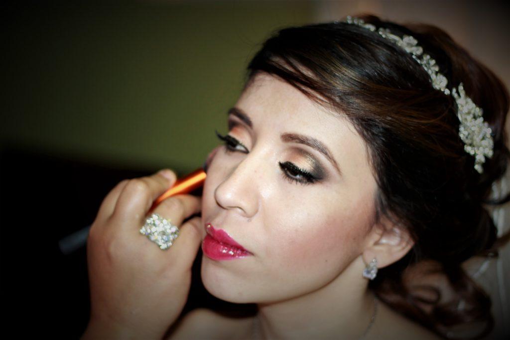 Maquillaje de la novia en Santa Ana