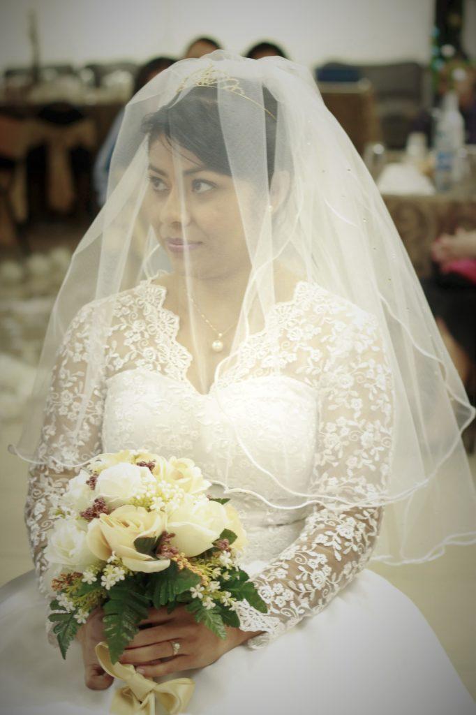 Novia boda cristiana San Salvador