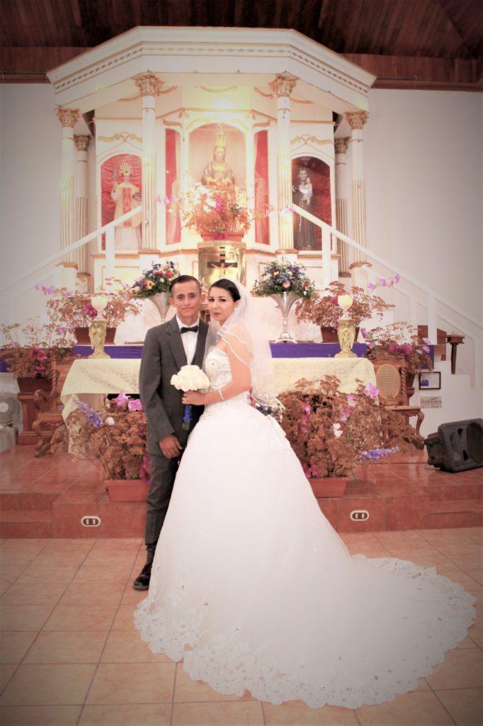 fotografía Santa Ana evento boda decoración iglesia Metapán
